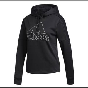 Adidas Sports Logo Hoodie New